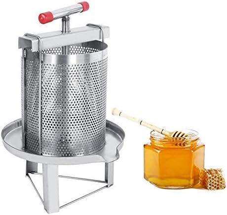 Herramientas de apicultura Prensa manual de malla de cera de miel ...