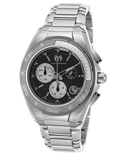 Technomarine Women's Manta Swiss-Quartz Watch with Stainless-Steel Strap, Silver, 22 (Model: TM-215027)