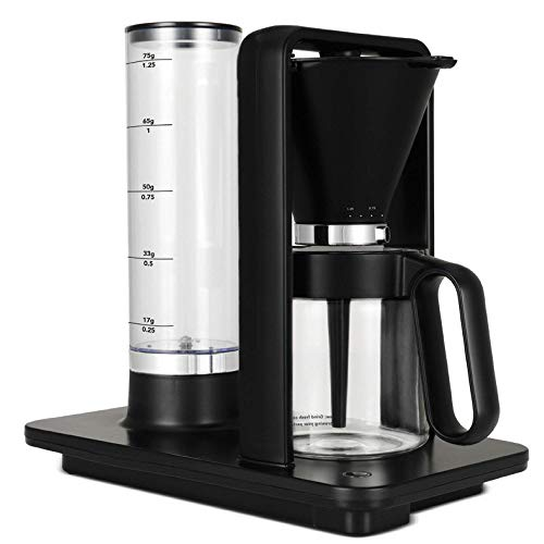 Wilfa Precision Automatic Coffee Brewer (WSP-1B), Detachable Water Tank, Precise Temperature and Water Control, Hot Warming Plate, Glass Carafe Included, Pour Over, Black
