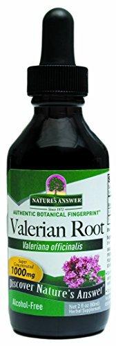 alcohol valerian root