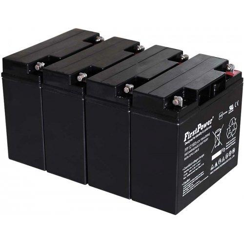 FirstPower Blei-Gel Akku fü r USV APC RBC55 12V 18Ah VDs, 12V, Lead-Acid akku-net 1.86.APC.999.231