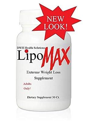 LIPO-MAX Diet Pills, Fat Burner, Weight Loss Supplement, Lose Weight