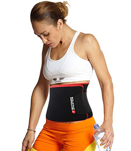 c59616cf75 Reformer Athletics Waist Trimmer Ab Belt Trainer for Faster Weight Loss. Includes  Free Fully Adjustable