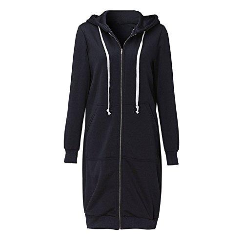 Romacci Hoodies Pockets Sweatshirt Outerwear product image