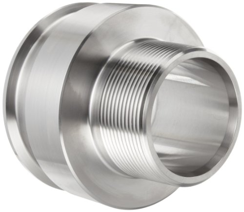Parker Sanitary Tube Fitting, 316L Stainless Steel, Adapter, 1