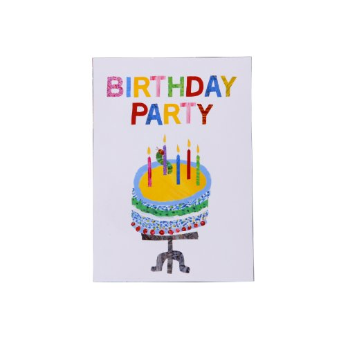- Talking Tables Hungry Caterpillar Very Hungry Caterpillar Invitations for a Tea Party or Birthday, Multicolor (10 Pack)
