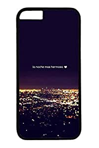 B City Night 3 Slim Hard Cover for iPhone 6 Plus Case ( 5.5 inch ) PC Black Cases by mcsharks