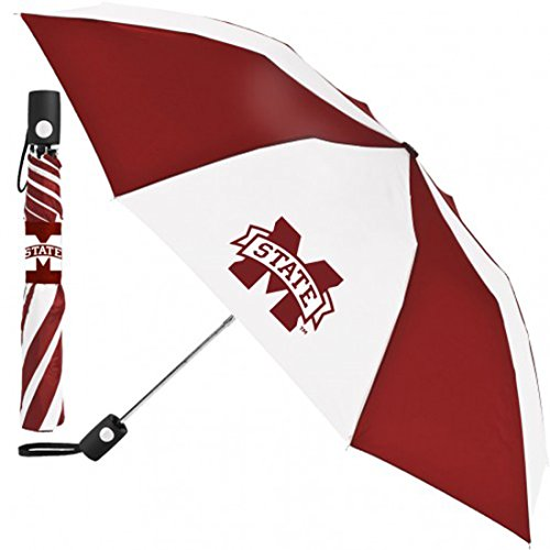 (Wincraft MState Mississippi State Umbrella 42 inches Automatic Folding)