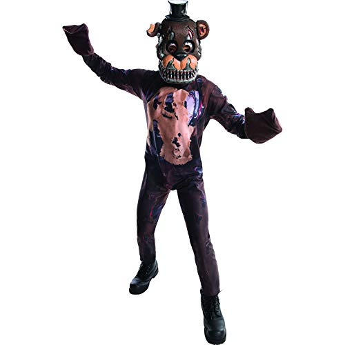 Rubie's Costume Boys Five Nights at Freddy's Nightmare Fazbear Costume, Large, ()