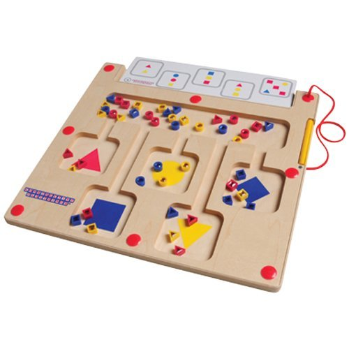 Color & Shape Magnetic Board with Cards