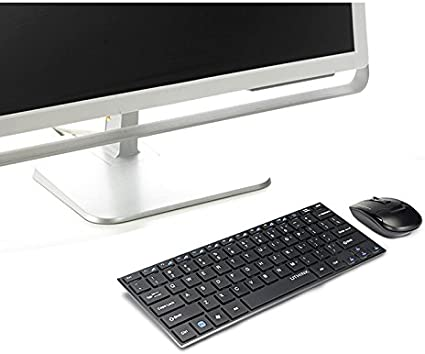 Zhuhaitf Wireless Keyboard Mouse Thin Combo for Laptop Notebook PC Computer