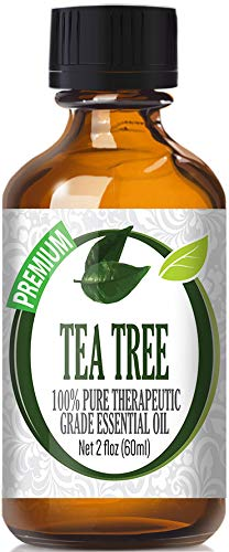 Tea Tree Essential Oil - 100% Pure Therapeutic Grade Tea Tree Oil - 60ml by Healing Solutions