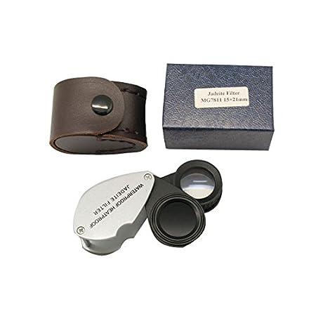 Sinotech Jadeite Filter Gemstone 15x-21mm Loupe Jf-15x Chelsea