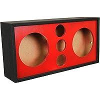 DEEJAY LED 2x10TRIPPLETWEET Chuchera Triple Tweeter, Red Box