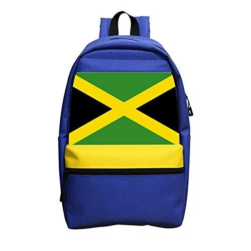 - Jamaican Flag Colour Backpacks, GCASST School Bag for Teens Girls Boys Kids, School Backpack, Unisex Casual Bags