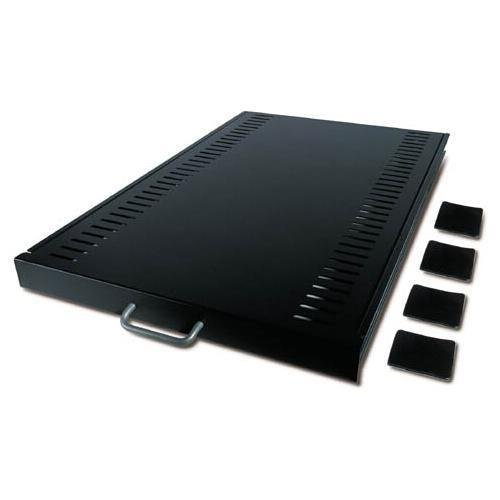 APC AR8123BLK rack shelf (sliding) - 1U - Black - 1u - For Nets ()