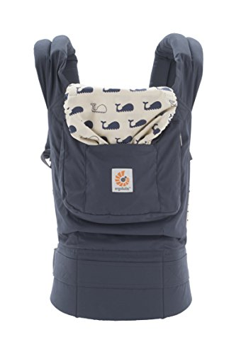 Why Choose Ergobaby Original 3 Position Baby Carrier Marine