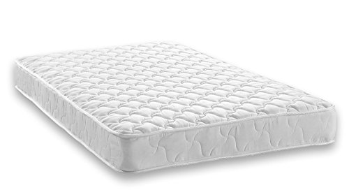 Essential 6 Inch Coil Mattress by Signature Sleep made with CertiPUR-US Certified Foam, 6 Inch Twin Mattress, White. Available in Multiple Sizes