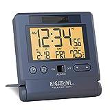 Best Home-X Alarm Clocks - MARATHON CL030036BL Atomic Travel Alarm Clock with 8 Review
