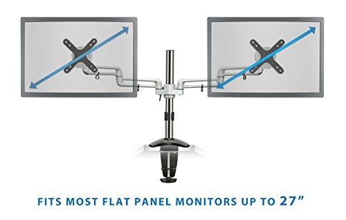 Mount It Mi 732 Dual Monitor Office Desk Stand Mount