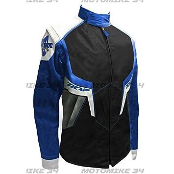 Chaqueta para hombre Enduro Cross Trap azul - XL: Amazon.es: Coche y moto