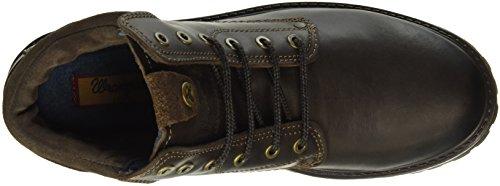Wrangler Yuma, Zapatillas de Estar por Casa para Hombre Marrón - Braun (30 Dk. Brown)