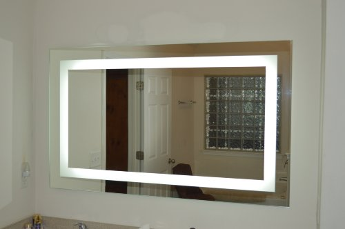 Lighted Vanity Mirror LED MAM86036 Commercial Grade 60'' Wide x 36'' Tall by Mirrors and Marble
