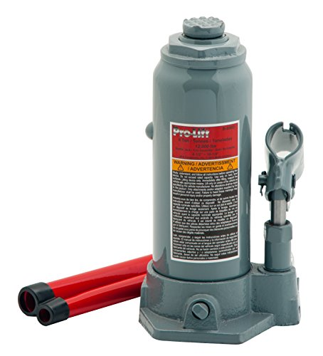 - Pro-Lift B-006D Grey Hydraulic Bottle Jack - 6 Ton Capacity