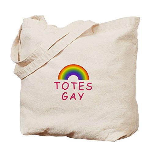 Cafepress Totes–gay–Borsa di tela naturale, tessuto in iuta