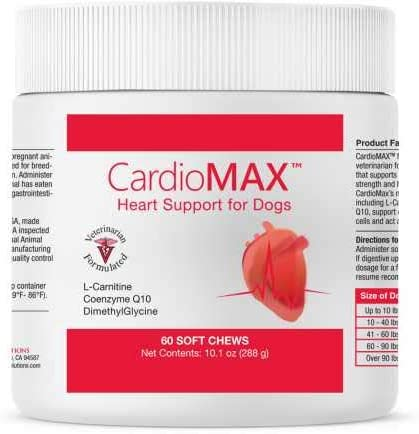 Pet Health Solutions CardioMAX Heart Support Supplement