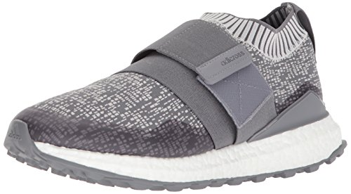 adidas Men's Crossknit 2.0 Golf Shoe Three Grey one Collegiate Navy, 10.5 Medium - Boost Adidas Shoes Golf