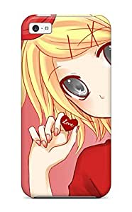 Fashionable Style Case Cover Skin For Iphone 5c- Lily - Vocaloid