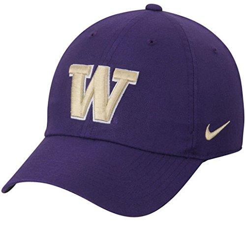 ritage 86 Authentic Adjustable Performance Hat (One Size, Washington Huskies- Purple) (Nike College Hats)