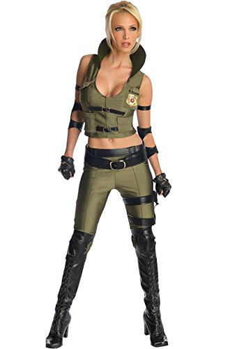 Sonya Blade Costume - Medium - Dress (Sonya Blade Adult Costumes)