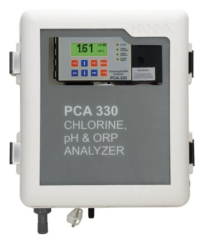 Hanna Instruments PCA320-1 Free and Total Chlorine, pH and Temperature Analyzer, 115V -