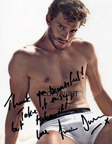 Limited Edition Jamie Dornan 50Shades unterzeichnet Foto Autogramm signiertsigniertes