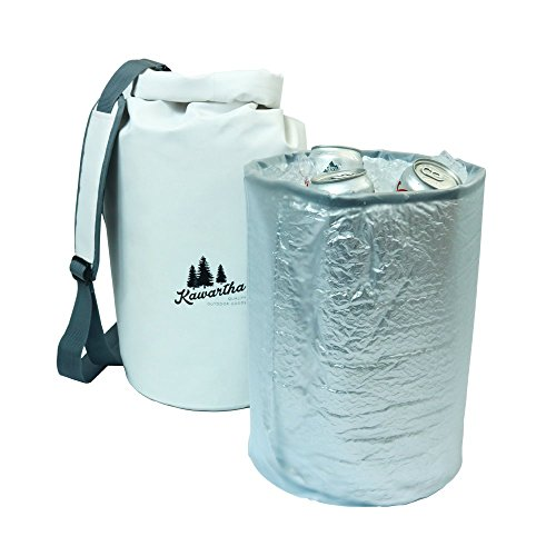 Kawartha Drybag Cooler, Camping, Hiking High Capacity Soft Cooler