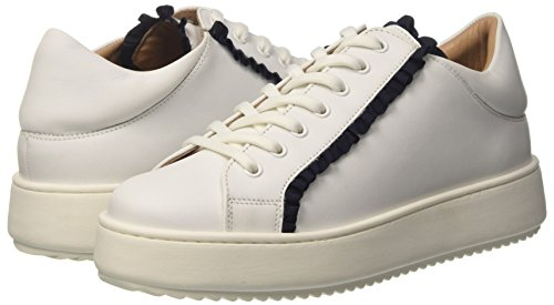 Ottico Chaussures Gymnastique Cs8pjy Cassé bianco Blanc Twinset Femme De Milano wHIAz