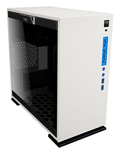 InWin 301 White Tempered Glass Premium Micro-ATX Mini-ITX Tower Gaming Computer Case