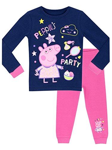 Peppa Pig Girls' Peppa's Party Pajamas Size 3T