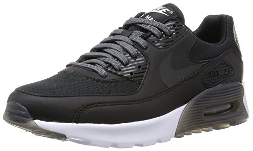 Nike Womens Air Max 90 Ultra Essential Black/Black/Dark - All Black Air Max 90