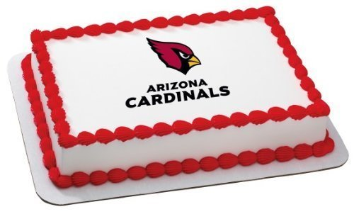 NFL Licensed Arizona Cardinals Cake Edible Image, Cake Topper by DecoPac