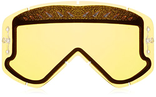 Smith Optics Motocross Dual Airflow AFC Goggle Replacement Lens (Yellow) ()