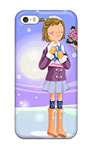 [jtQWkQZ10832anbsy] - New Sweet Christmas Gifts Protective Iphone 5/5s Classic Hardshell Case