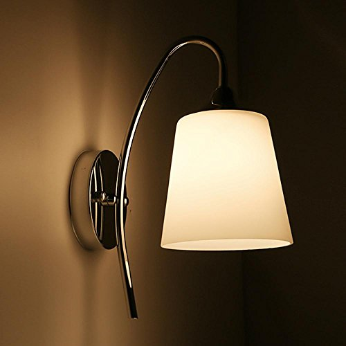 Lampe Applique De EuropéEn Chevet Salon Moderne Chambre Minimaliste Murale En Verre Led Porche Style AméRicain