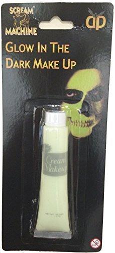 Glow in the dark make up Halloween Dark Horror Scream Machine Scary by Best Dressed ()