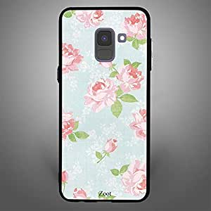 Samsung Galaxy A8 Plus blue pink rose