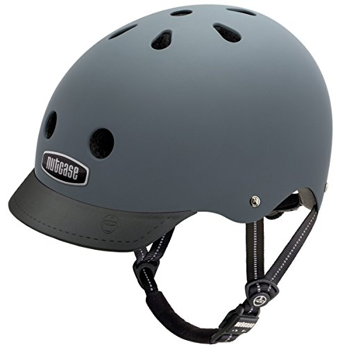 Nutcase Street Bike Helmet, Fits Your Head, Suits Your Soul – Shark Skin Matte, Small