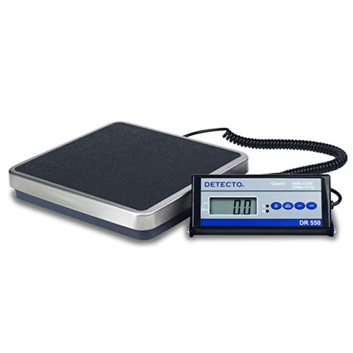 Detecto Digital Physician Scale 550 x 0.2lb / 250 x 0.1kg Po