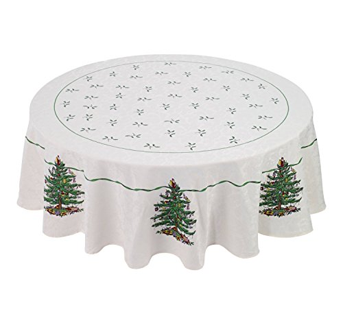 - Artisan Flair AF17000 Hand Printed Fabric Tablecloth (70